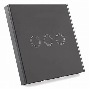 Lichtschalter Touch Glas : lichtschalter mit fernbedienung glas touchscreen wandschalter 3 weg n7q6 ebay ~ Frokenaadalensverden.com Haus und Dekorationen