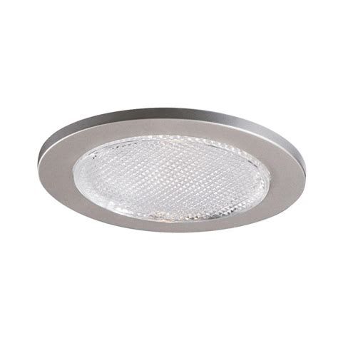 halo 4 in satin nickel recessed lighting lensed shower - Shower Recessed Light