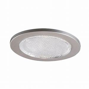Recessed lighting trim sizes : Halo in satin nickel recessed lighting lensed shower
