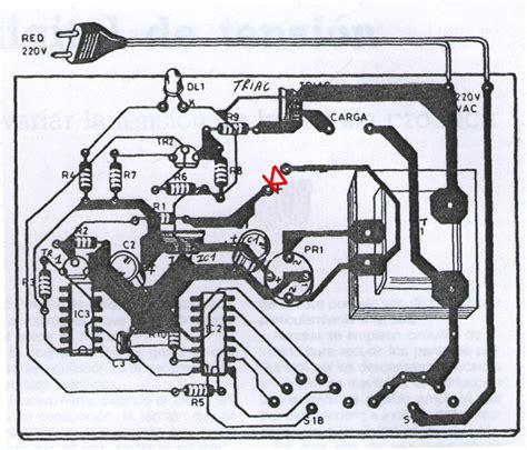 solucionado armar un circuito regulador dimmer ayuda yoreparo