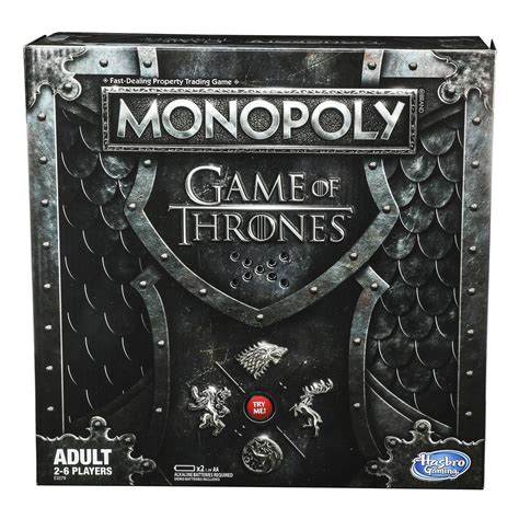 monopoly game  thrones edition releasing january