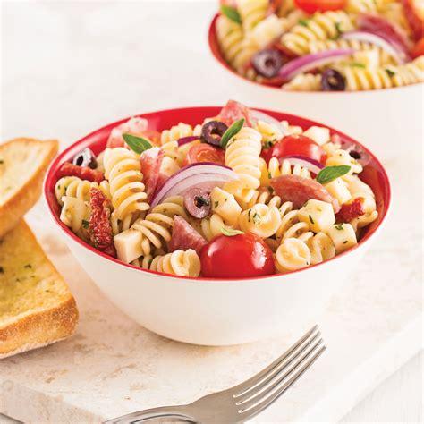 salade de p 226 tes 224 l italienne recettes cuisine et nutrition pratico pratique