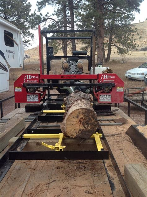 picked   hud son portable sawmill  ready