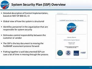 fedramp developing system security plan slides With system security plan template