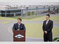 New North Toledo Dana plant celebrates groundbreaking