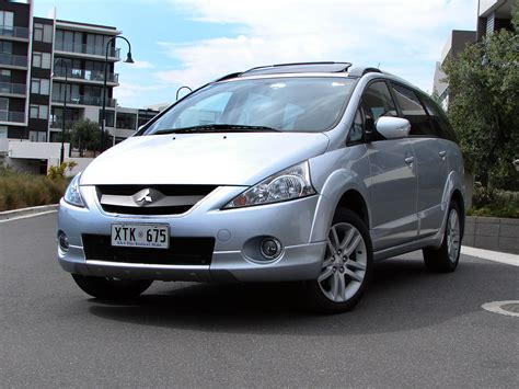 mitsubishi grandis review road test  caradvice