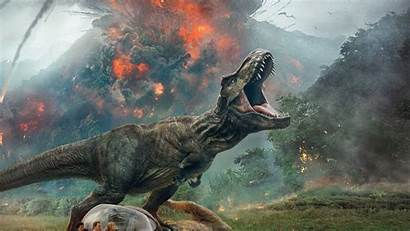 Jurassic Fallen Kingdom 4k Dinosaur Park Background