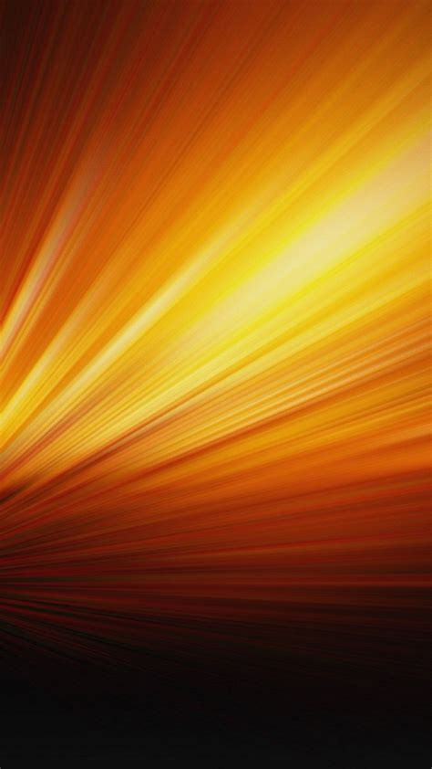 Orange Wallpaper For Iphone by Orange Light Hd Iphone 6 Plus Wallpaper 34823 Abstract