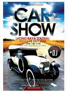 Car Show Flyer Templates - Free Images, PSD Documents ...