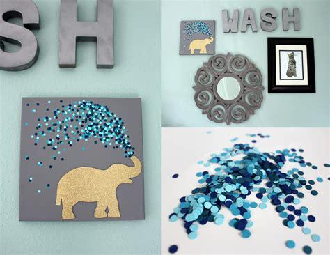 minute elephant canvas   decorate  canvas art