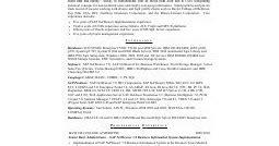 resume sles sap basis consultant resume