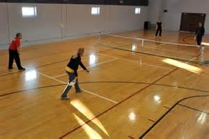 Indoor Pickleball Court