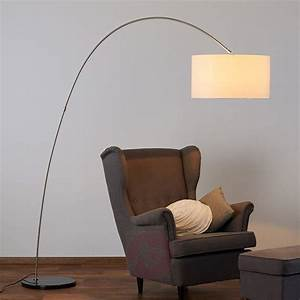 Lampe Mit Glasfuß : textil stehleuchte alia mit led lampe kaufen ~ Indierocktalk.com Haus und Dekorationen