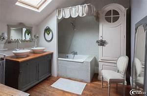 chambre moderne avec meubles anciens ralisscom With chambre bébé design avec meuble a fleur