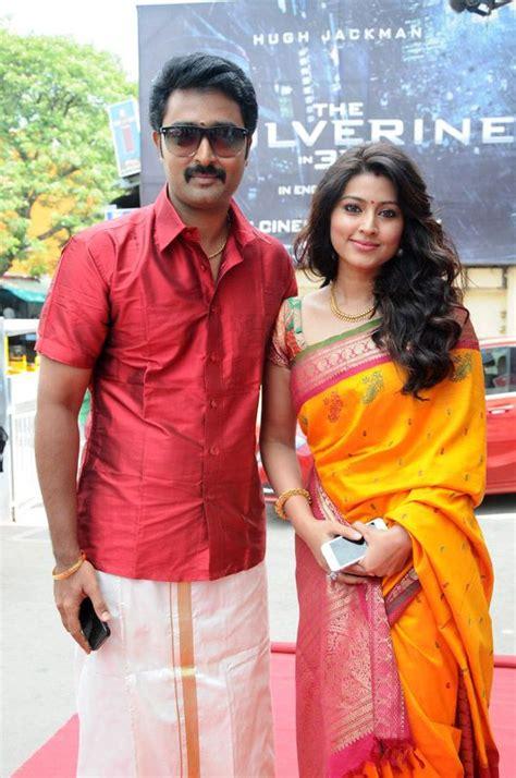 kollywood sneha with husband actor prasanna saree actresses wedding