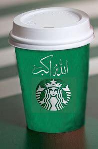 uproar  starbucks green allahu akbar holiday cups