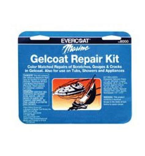 Boat Hull Gelcoat Repair Kit by Evercoat Gel Coat Repair Kit 4oz