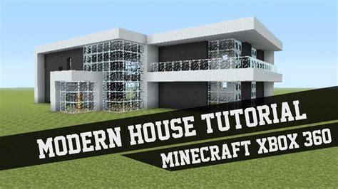 large modern house tutorial minecraft xbox   youtube