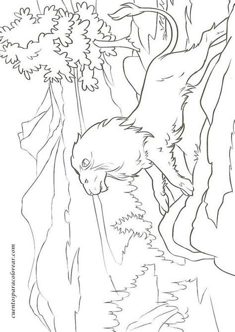 dibujos  colorear cronicas de narnya