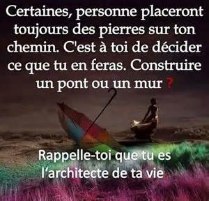 Proverbe Et Citation Sur La Vie by Tu Es L Architecte De Ta Vie Citation Proverbe Nouveau