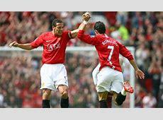 Manchester United News Cristiano Ronaldo and Patrice Evra