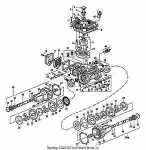 Troy Bilt 13064 12 5hp Hydro Suburban Tractor  S  N 130640100101  Parts Diagram For Hydrostatic