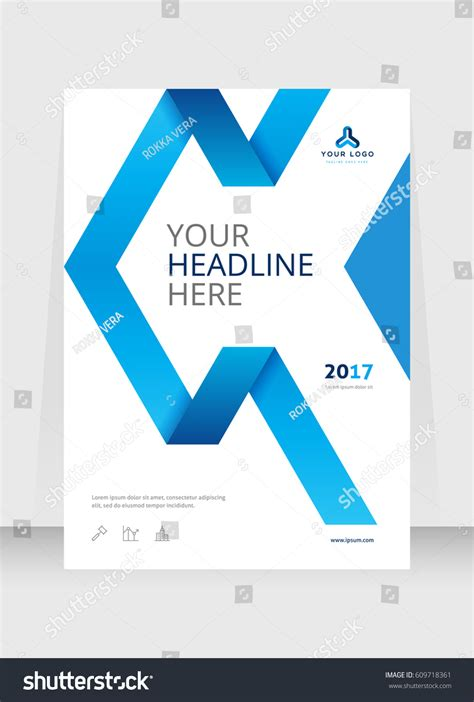 annual report cover in abstract design vector free annual report cover design abstract background stock
