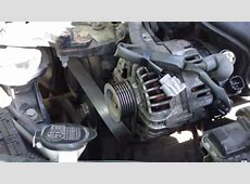 How to Replace Alternator on 20002010 Toyota Corolla