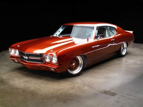 1970 Chevrolet Chevelle Custom 2 Door Coupe 89325