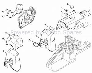 26 Stihl Ms 260 Pro Parts Diagram
