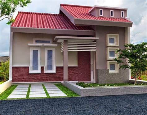 penataan warna rumah minimalis tampak depan jogja rumah
