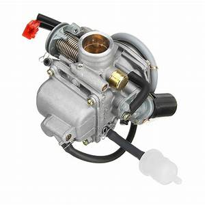 Gy6 150cc Pd24 Carburetor Carb For Moped Go Kart Scooter