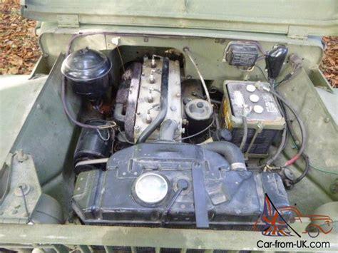 wwii jeep engine 1941 ford gp ww2 jeep willys
