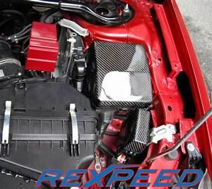 Rexpeed Carbon Fiber Fuse Box Covers Set