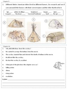 The Indian In The Cupboard Reading Level by Indian In The Cupboard Reading Comprehension Journal By A