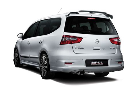 Nissan Livina Backgrounds by Nissan Grand Livina Facelift Introduced From Rm87k Image