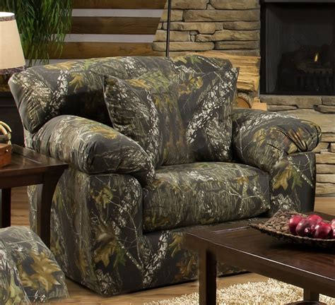 oversized camo recliner big oversized chair in mossy oak camouflage fabric by 1343