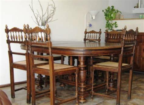 eethoek stoelen 6 meubelen grootmoederstijd eethoek met 6 pracht stoelen