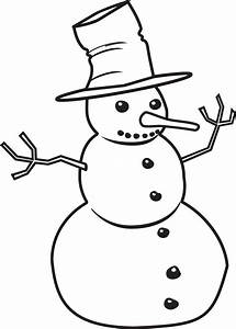 Snowman black and white snowman black and white clipart ...