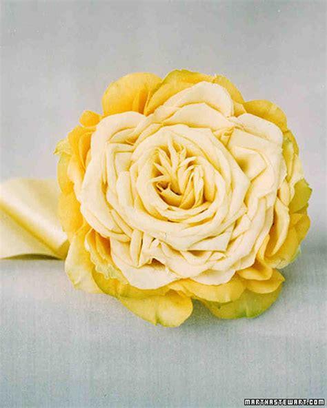 Yellow Wedding Bouquets Martha Stewart Weddings