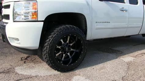 Leveled 2010 Chevy Silverado 1500 w/ 20x12  44 Offset