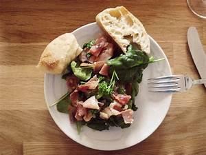 Spinat Als Salat : salat mit spinat schinken und mozzarella kleineloeffelhase ~ Orissabook.com Haus und Dekorationen