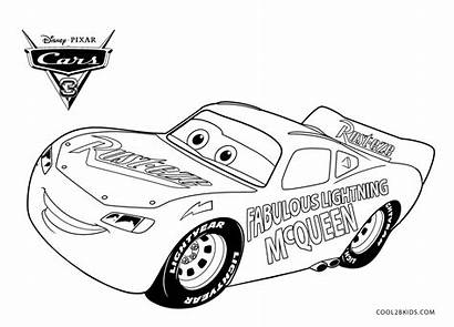 Mcqueen Lightning Coloring Pages Fabulous Printable