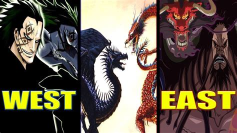dragon   east kaido dragon   west monkey