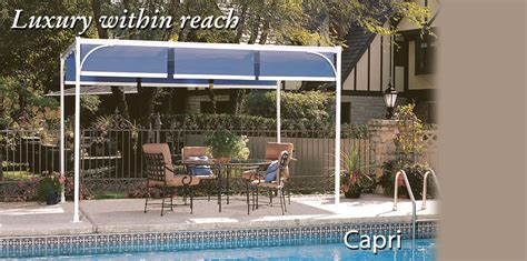 retractable pergola canopies  awnings shadetree systems