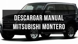 Descargar Manual De Usuario Mitsubishi Montero