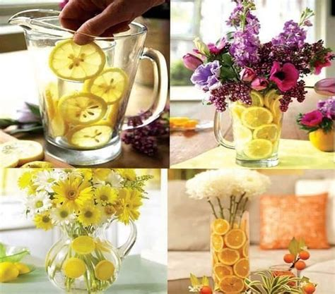 dining table floral arrangements here are 25 easy handmade home craft ideas part 1