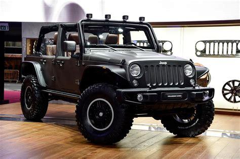 future jeep wrangler jeep wrangler stealth concept storms paris france