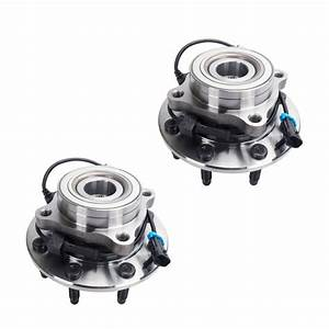 2pcs Front Wheel Hub And Bearing Assembly For Chevy
