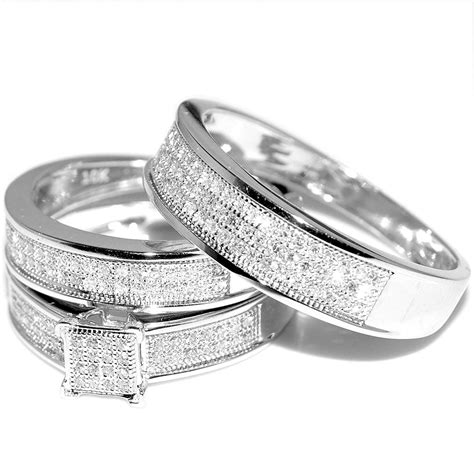 beautiful white gold wedding ring sets  women matvukcom